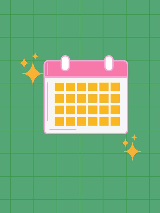 Checklist para segunda quinzena do mês
